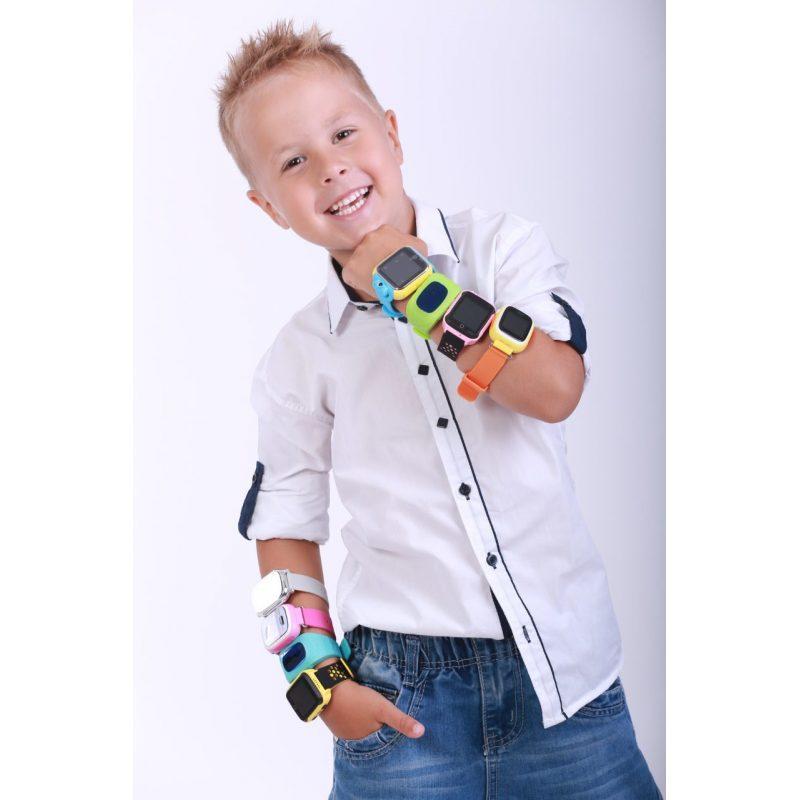 Детские умные часы с GPS трекером G900A Yellow