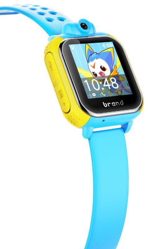 Детские умные часы с GPS трекером TD-07 (Q20) Black