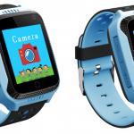 Детские умные часы с GPS трекером G900A Blue
