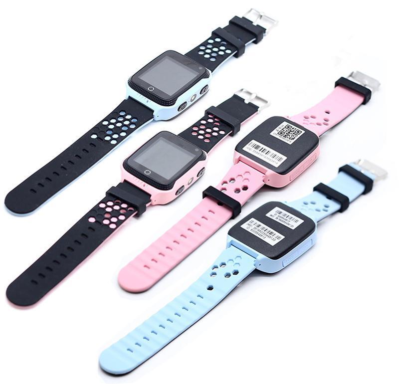 Детские умные часы с GPS трекером G900A Pink