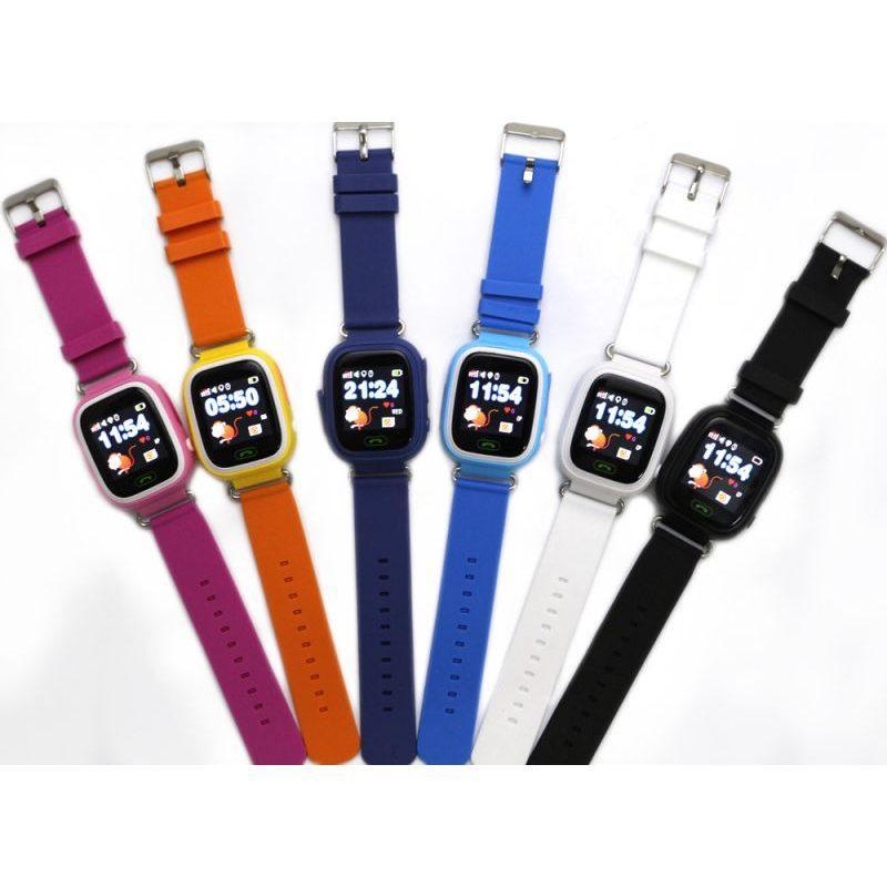 Дитячий розумний годинник з GPS трекером TD-02 (Q100) Orange