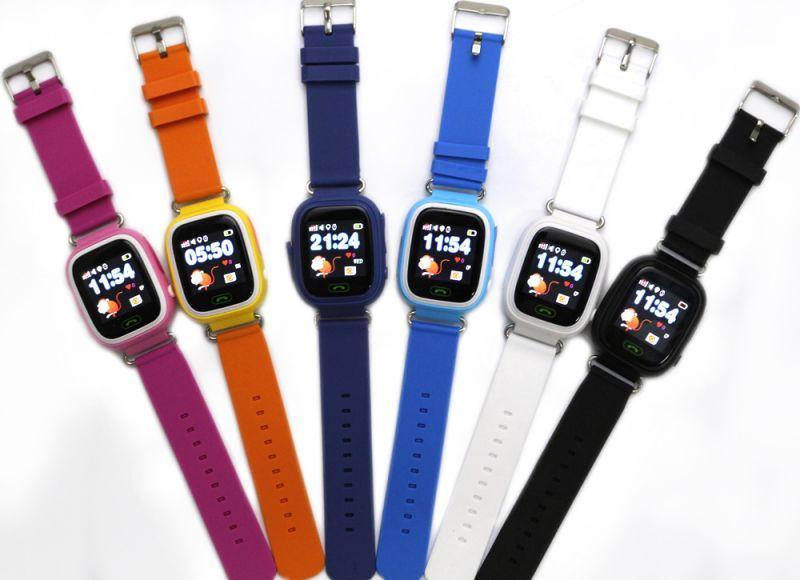Детские умные часы с GPS трекером TD-02 (Q100) Black