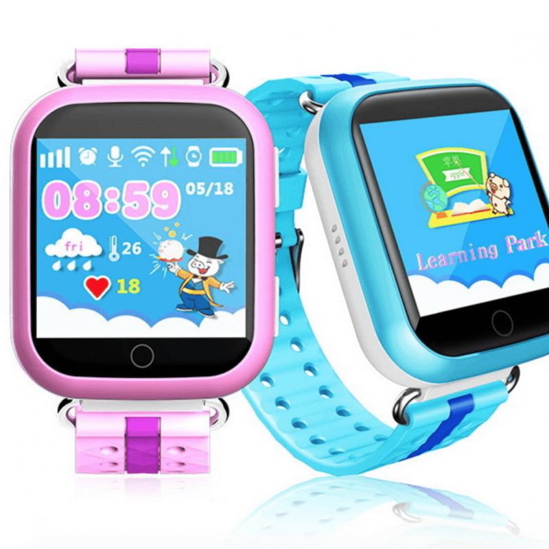 Детские умные часы с GPS трекером TD-10 (Q150) Pink