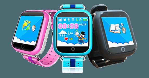 Дитячий розумний годинник з GPS трекером TD-10 (Q150) Black - «XoKo» 7454c1b24dcca