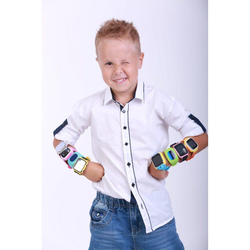 Детские умные часы с GPS трекером GW900 (Q60) Black