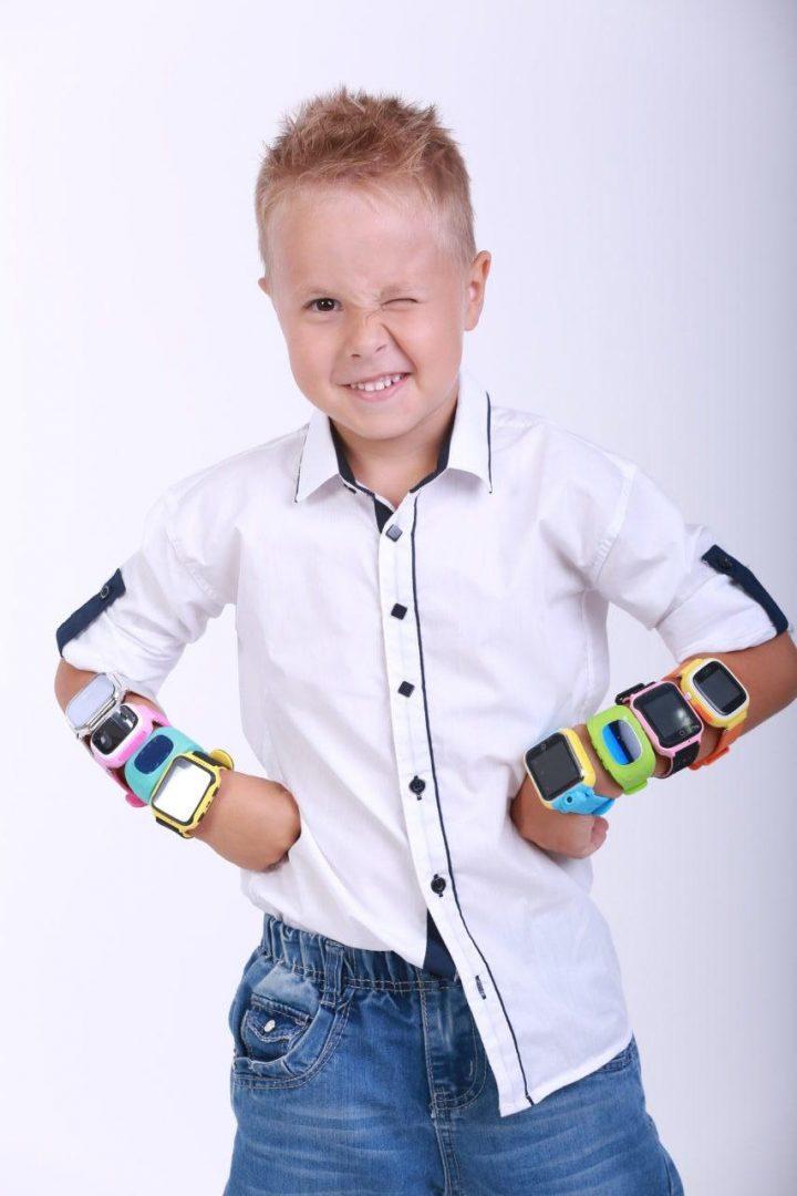 Дитячий розумний годинник з GPS трекером GW900 (Q60) Black - «XoKo» 3a0339d7cf440