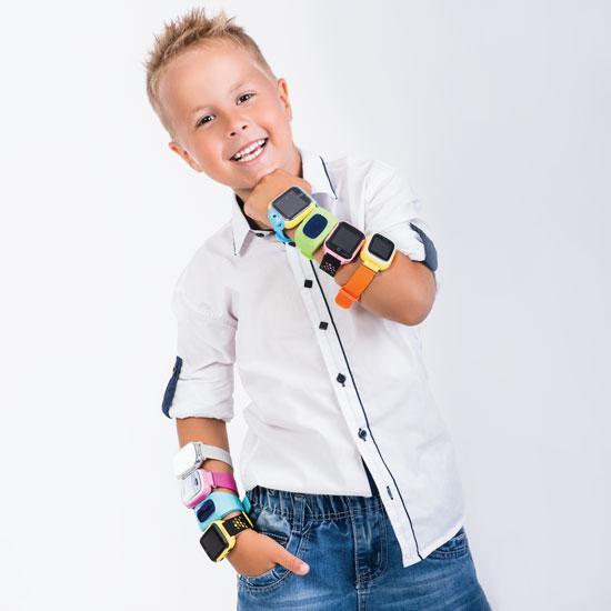 Дитячий розумний годинник з GPS трекером G700 (T58) Black