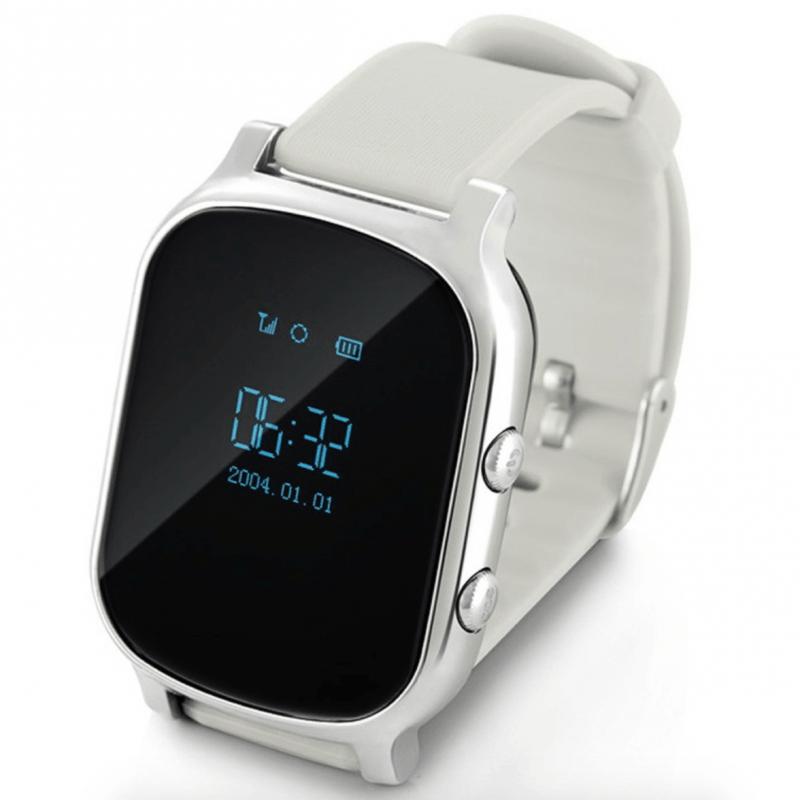 Дитячий розумний годинник з GPS трекером G700 (T58) Silver