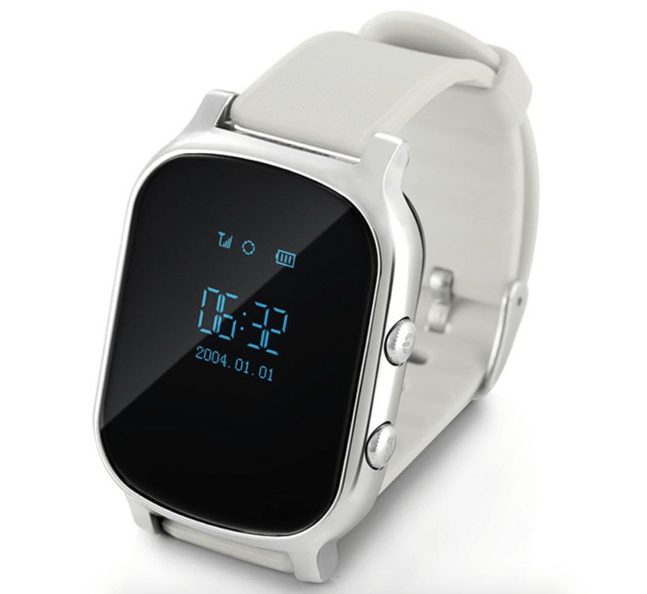 Дитячий розумний годинник з GPS трекером G700 (T58) Silver - «XoKo» 27de2836f3547