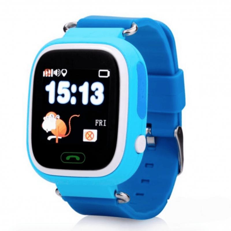 Дитячий розумний годинник з GPS трекером TD-02 (Q100) Blue
