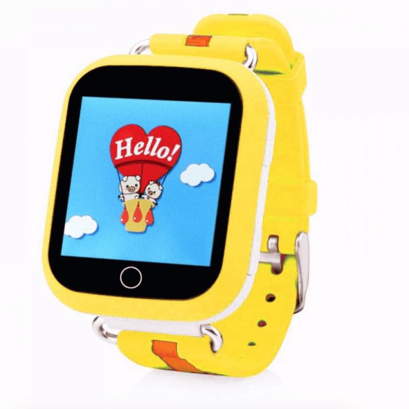 Дитячий розумний годинник з GPS трекером TD-10 (Q 150) Yellow