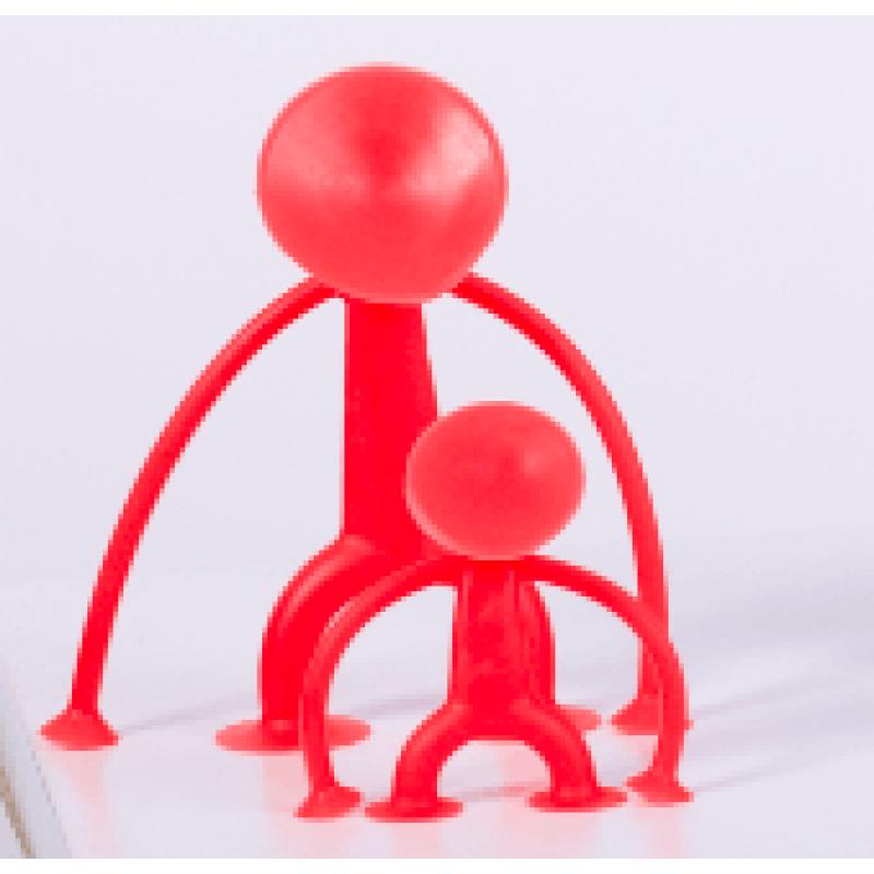 Человечек-присоска Sibelly красный