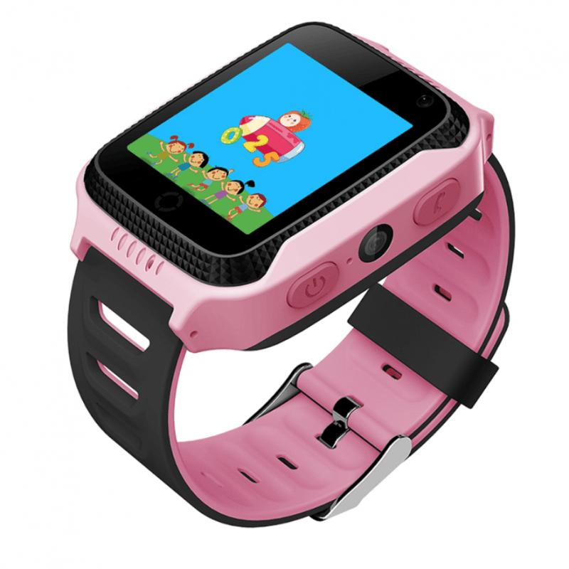 Дитячий розумний годинник з GPS трекером G900A Pink