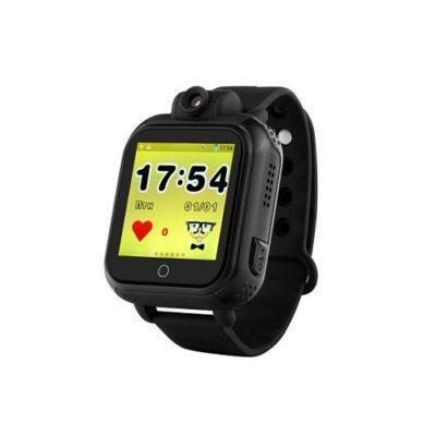 Дитячий розумний годинник з GPS трекером TD-07 (Q20) Black