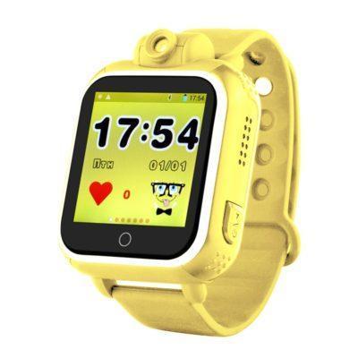 Дитячий розумний годинник з GPS трекером TD-07 (Q20) Yellow