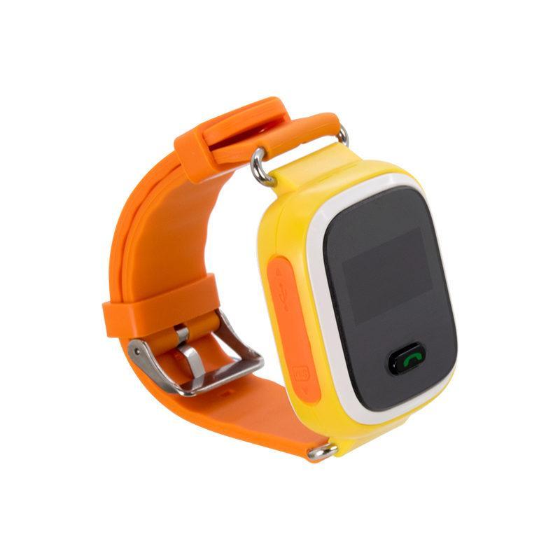 Дитячий розумний годинник з GPS трекером GW900 (Q60) Orange/Yellow
