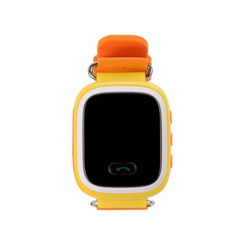 Детские умные часы с GPS трекером GW900 (Q60) Orange/Yellow