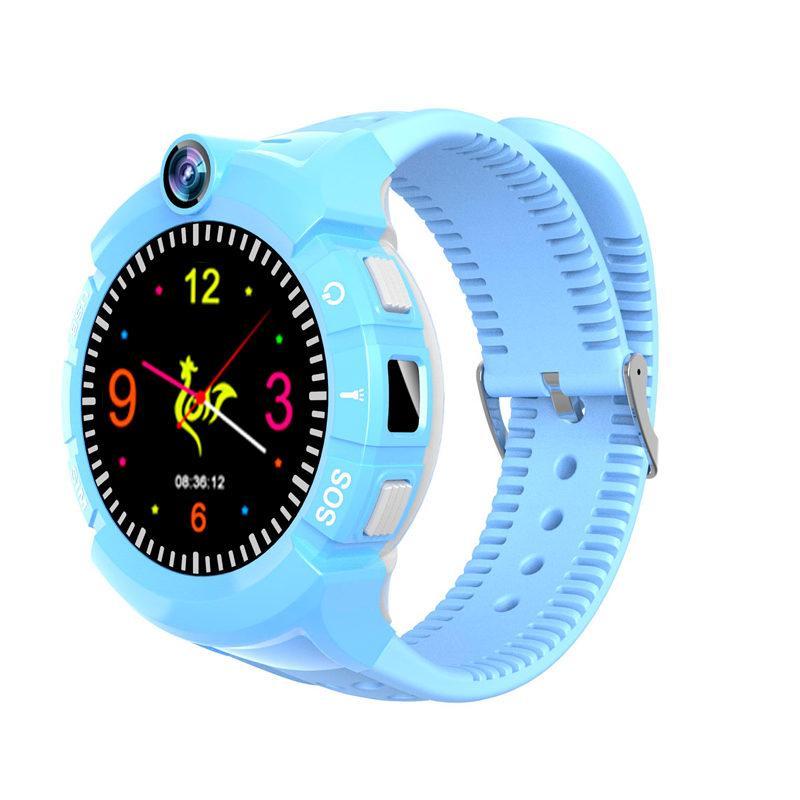 Дитячий розумний годинник з GPS трекером S-02 Blue