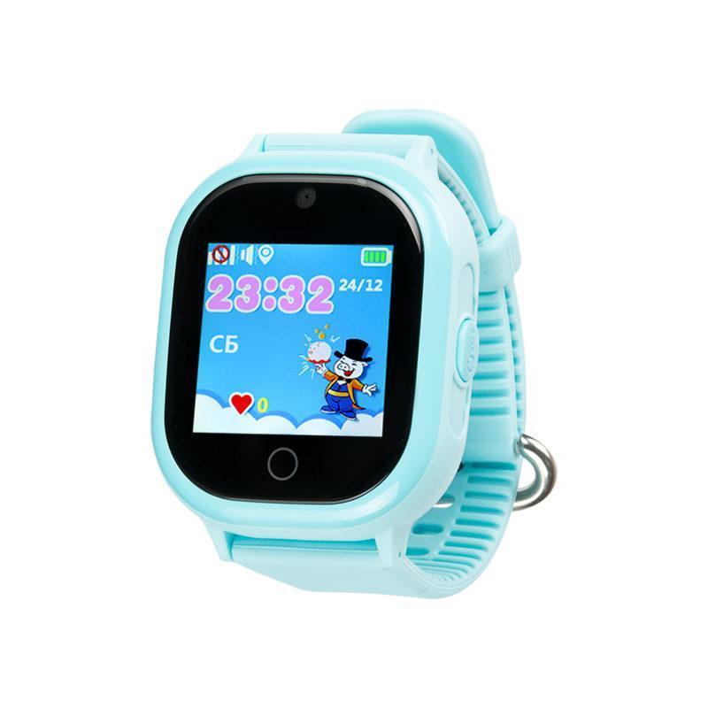 Дитячий розумний годинник з GPS трекером TD05 Pink Водонепроникний