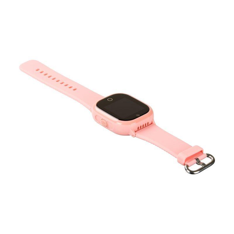 Детские Водонепроницаемые умные часы с GPS трекером TD05 Pink