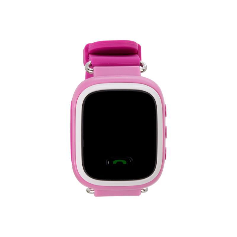 Дитячий розумний годинник з GPS трекером GW900 (Q60) Pink - «XoKo» 54e8ef025a8f4