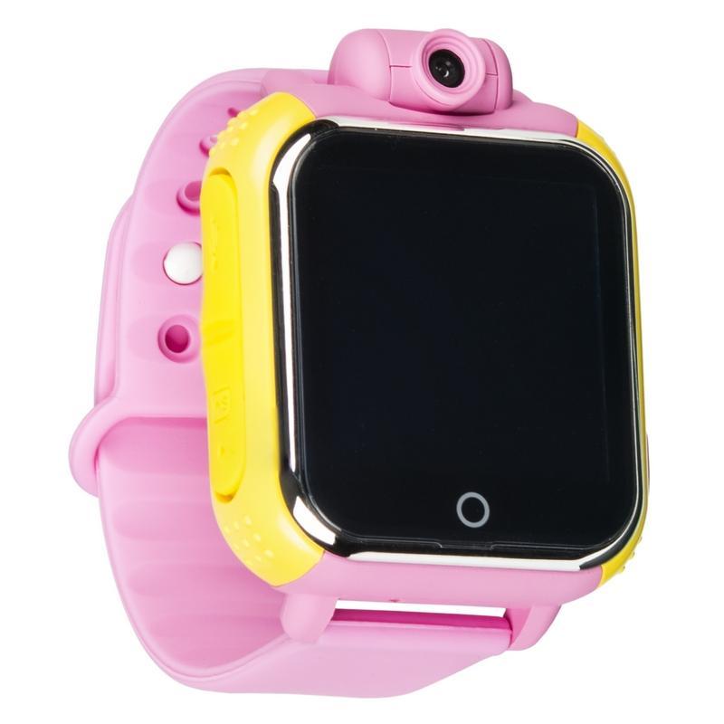 Дитячий розумний годинник з GPS трекером TD-07 (Q20) Pink - «XoKo» 7a78206f964e8