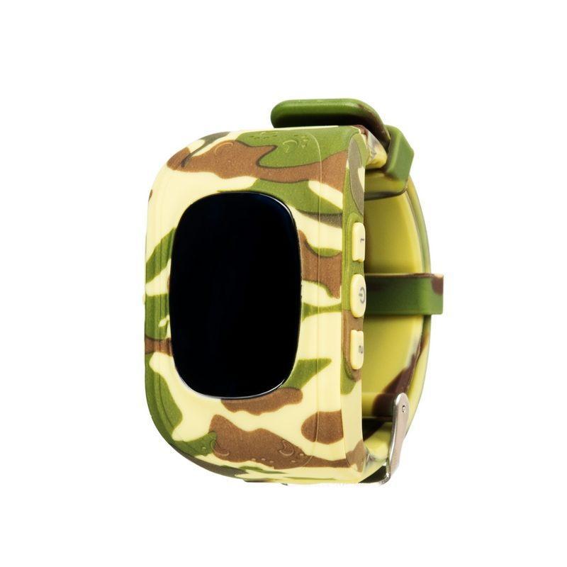 Детские умные часы с GPS трекером GW300 (Q50)  Military