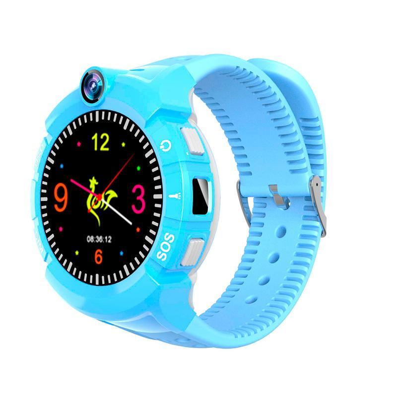 Дитячий розумний годинник з GPS трекером S-02 Pink - «XoKo» 906ee5d2b55fd