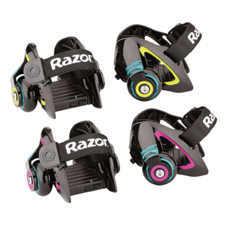Дитячі ролики Razor Jetts Heel Wheels Neon Green