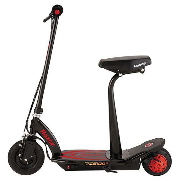 Електросамокат Razor Power Core E100S з кріслом Red