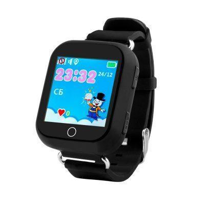 Дитячий розумний годинник з GPS трекером TD-10 (Q150) Black