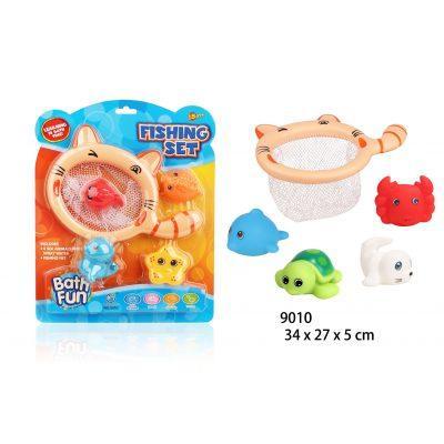 """Іграшка для ванни BathFun ХоКо """"Погодуй котика"""""""