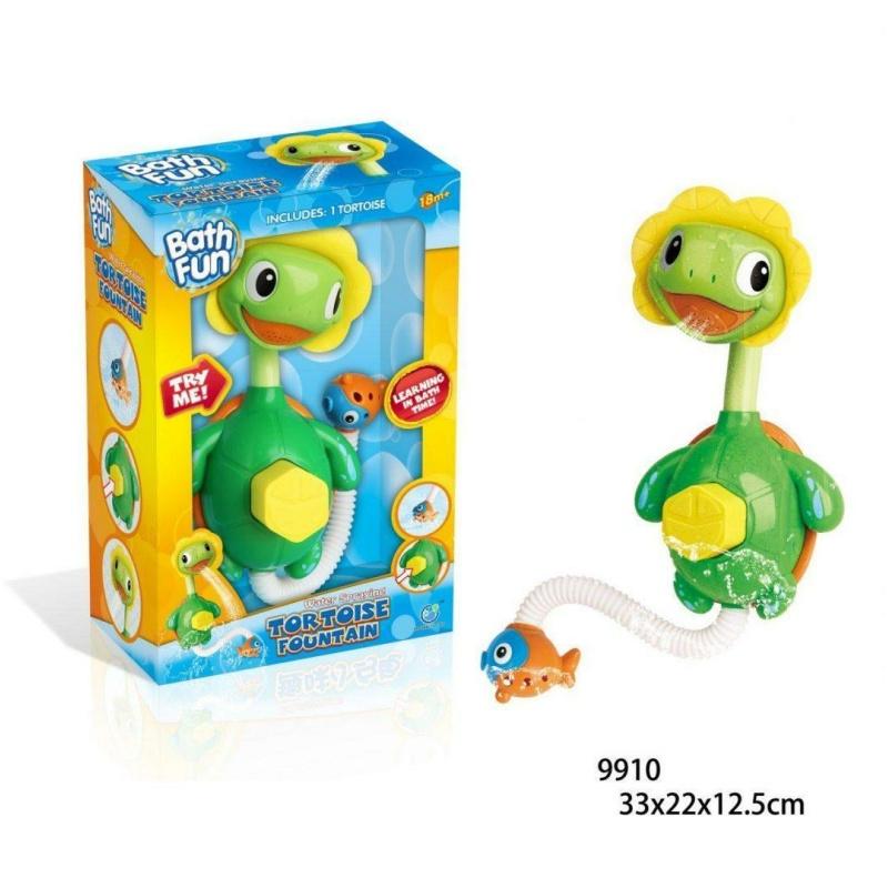 """Іграшка для ванни BathFun ХоКо """"Черепашка Насос"""""""