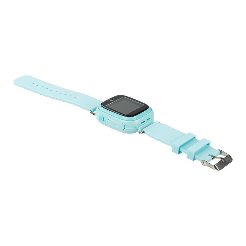 Детские умные часы с GPS трекером TD-02s Водонепроницаемые Black