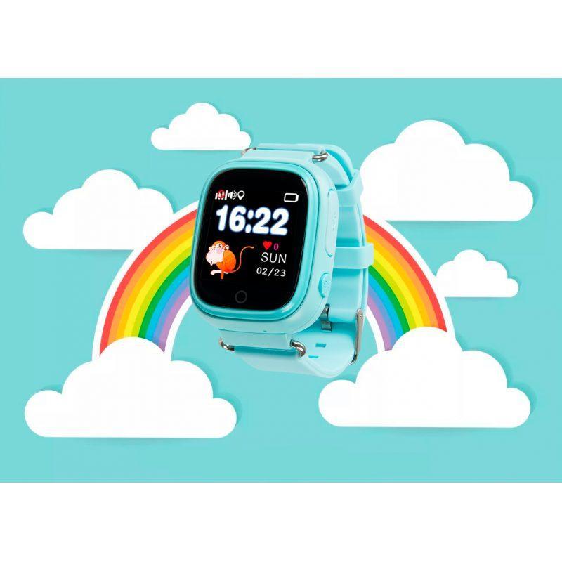 Дитячий розумний годинник з GPS трекером TD-02s Водонепроникний Blue