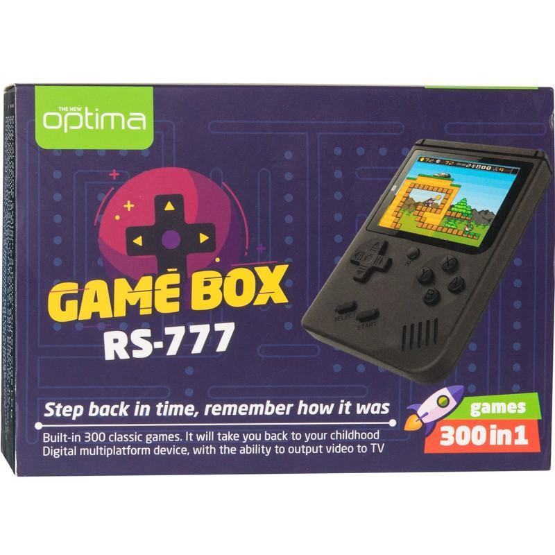 Приставка Optima Game Box RS-777 400 игр
