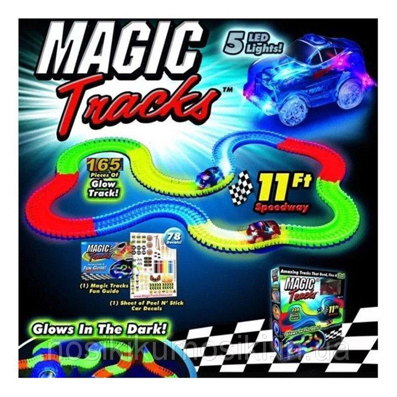 Гоночная трасса Magic Tracks (165 деталей)