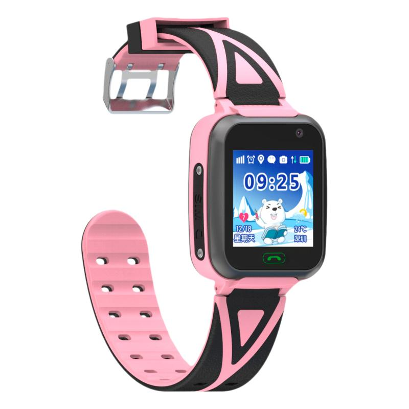 Детские умные водонепроницаемые часы с GPS трекером TD-16 Blue