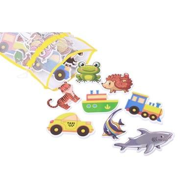 Набор ХОКО EVA ZОО+Транспорт (43 ед+мешочек для сушки +мешок хранения)