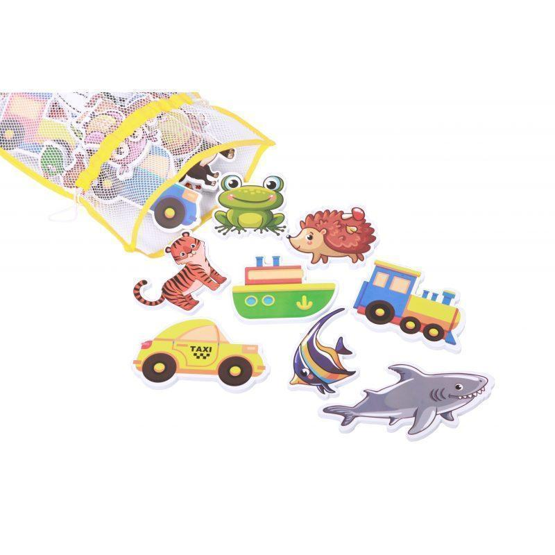 Набір Хоко EVA Zоо + Транспорт (43 од + мішечок для сушки + мішок зберігання)