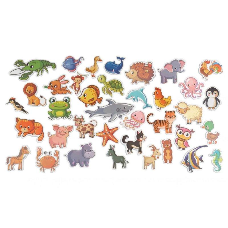 Набір Хоко EVA Zоо (37 од + мішечок для сушки + мішок зберігання)