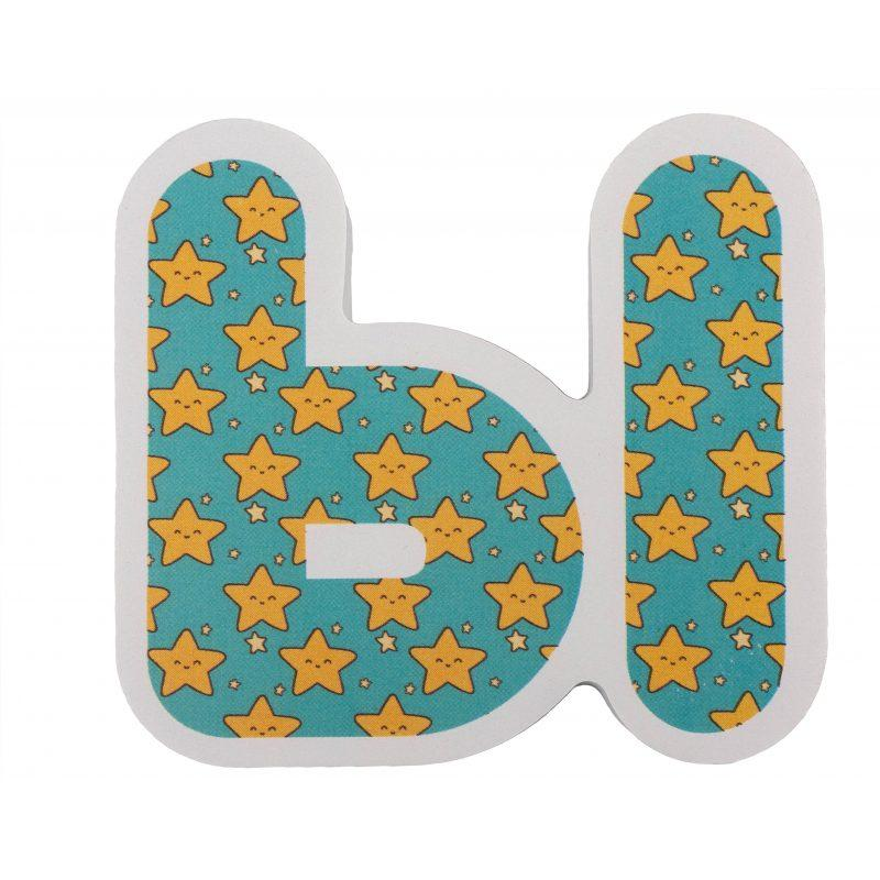 Набір Хоко EVA Алфавіт укр + рос (34 од + мішечок для сушки + мішок зберігання)