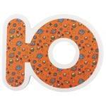 Набор ХОКО EVA Алфавит укр+рус  (34 ед+мешочек для сушки +мешок хранения)