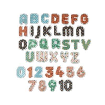 Набор ХОКО EVA Englisg+цифры (37 ед+мешочек для сушки +мешок хранения)