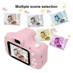 Цифровой детский фотоаппарат XoKo KVR-001 Розовый+Чехол