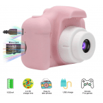 Цифровий дитячий фотоапарат XoKo КVR-001 Рожевий + Чохол