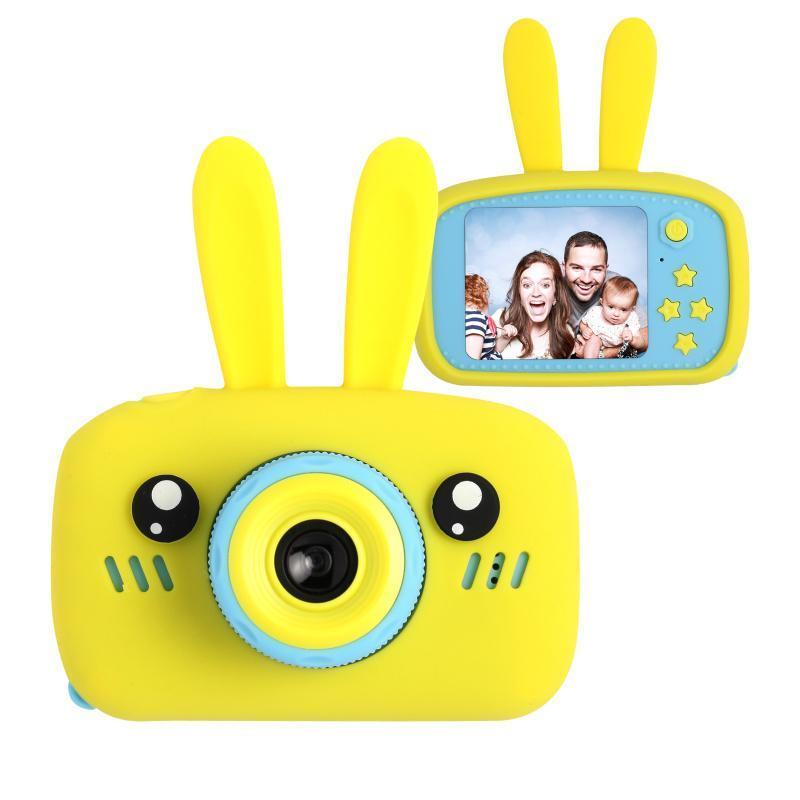 Цифровой детский фотоаппарат XOKO KVR-010 Rabbit Желтый