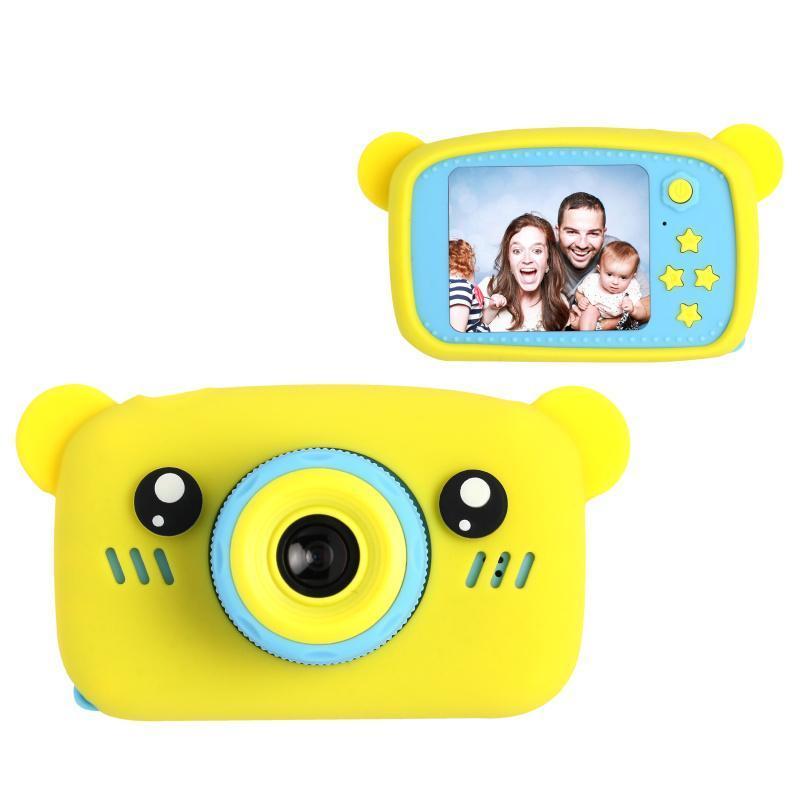 Цифровий дитячий фотоапарат XOKO KVR-005 Bear Жовтий
