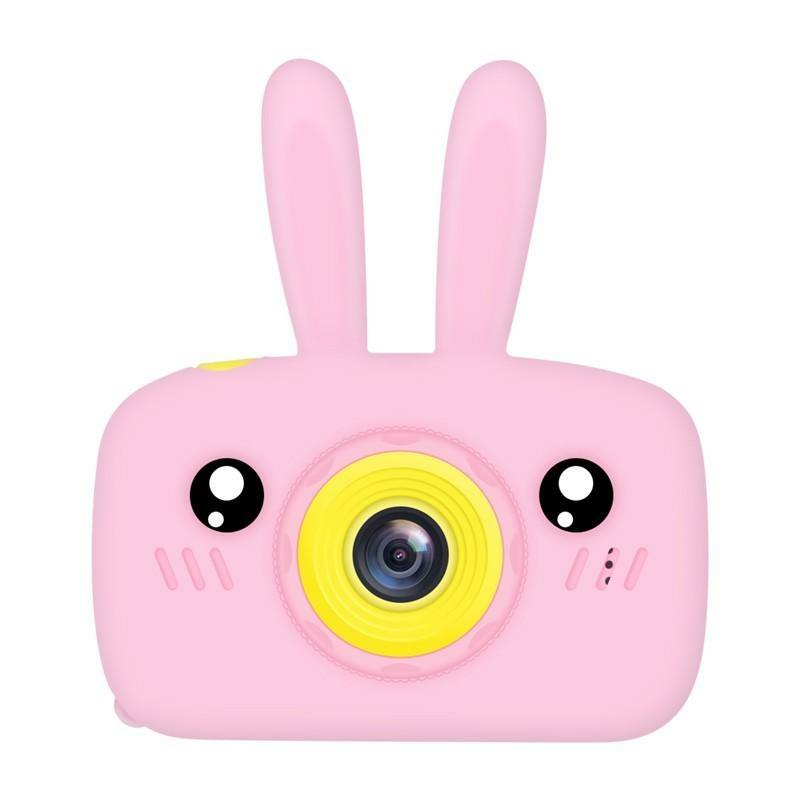 Цифровой детский фотоаппарат XOKO KVR-010 Rabbit Розовый