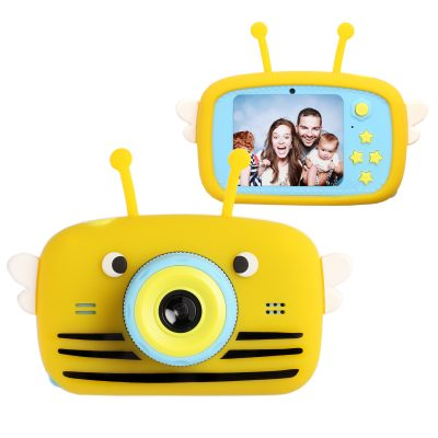 Цифровий дитячий фотоапарат XOKO KVR-100 Bee Dual Lens Помаранчевий
